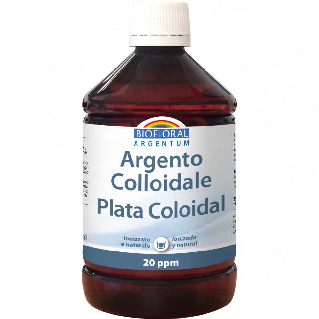 Plata Coloidal - 500 ml   Biofloral