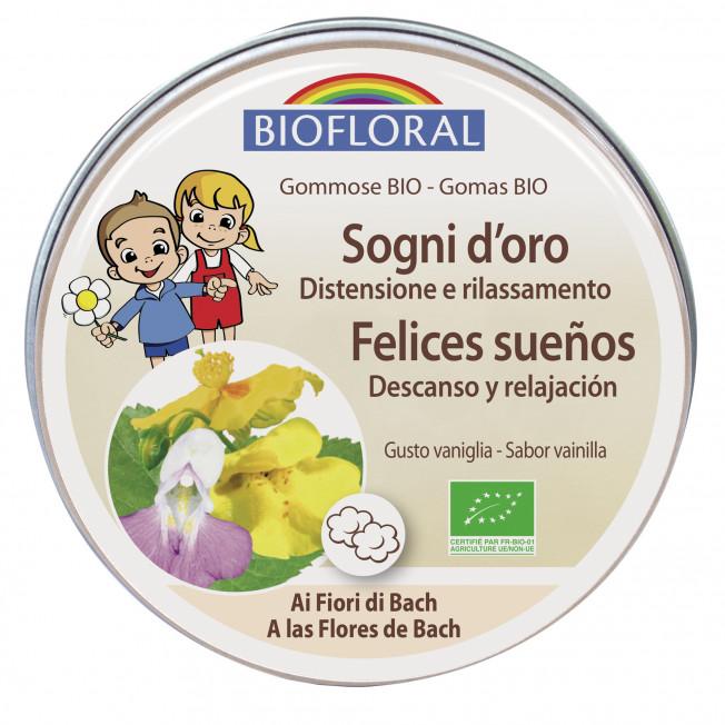 Pastillas de goma - Felices sueños - 45 g | Biofloral