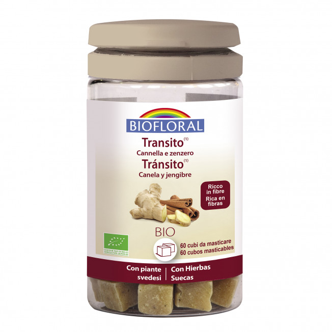 Cubos masticables - Tránsito - 60 g | Biofloral